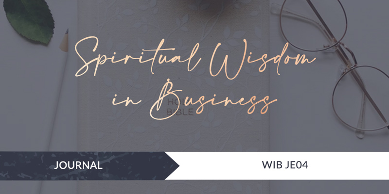 SPIRITUAL Wisdom in Business